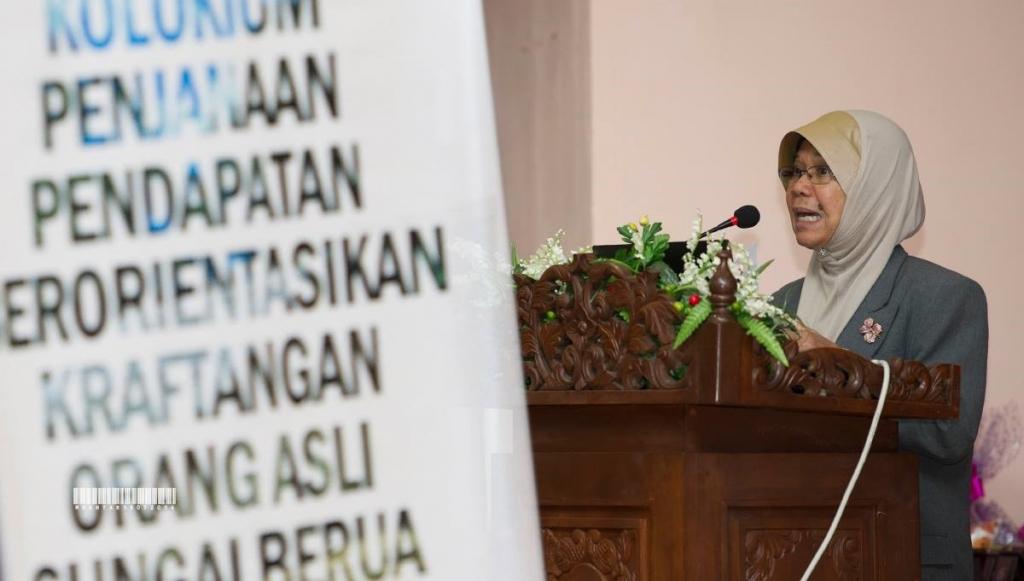 Ucapan Aluan dan Perasmian yang disampaikan oleh Prof. Emeritus Dr. Faizah binti Mohd Sharoum, Pengarah IPK.