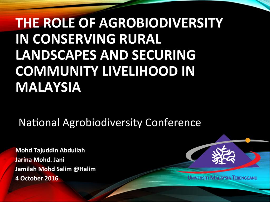 Agrobiodiversity 1