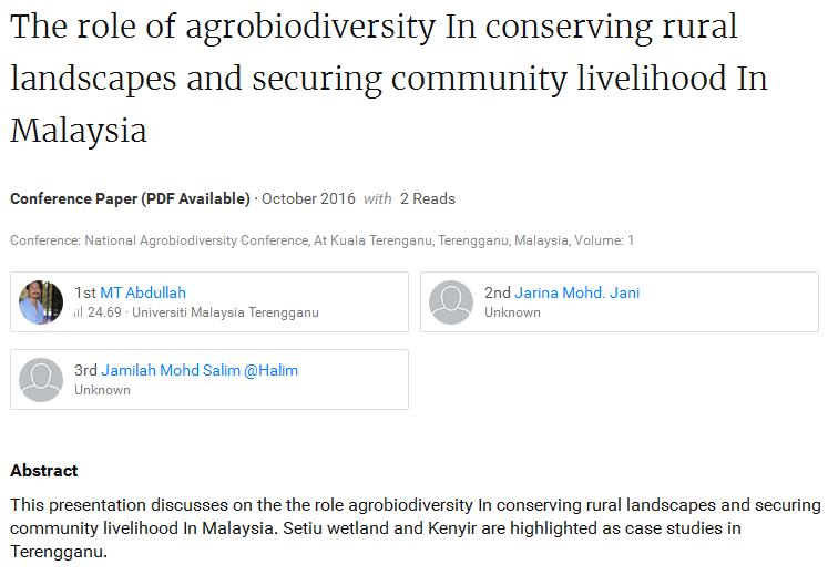 Agrobiodiversity 2