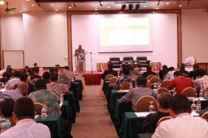 Delivering Keynote Adress by Mr. Mohd Khan Momin Khan.